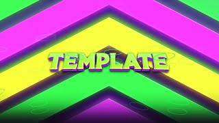 [FREE] Epic Dubstep Intro Template! Neon Sync! + TUTORIAL | After Effects | 2020 [HD]