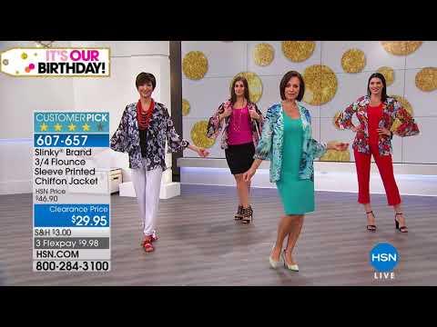 HSN | Slinky Brand Fashions Celebration. http://bit.ly/2FwJ1RD