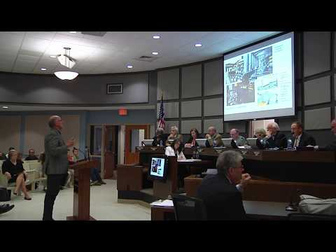 Development presentation at Auburn City Council meeting