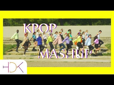 Kpop Mashup Dance Cover Twice, Blackpink, Exo, Bts ...  Hdk From France