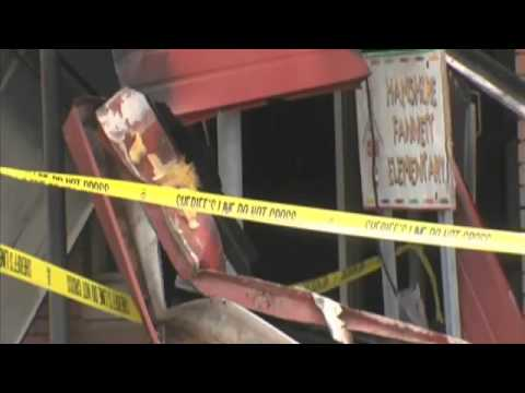 Investigators waiting to complete work on fire damaged Hamshire Fannett elementary school
