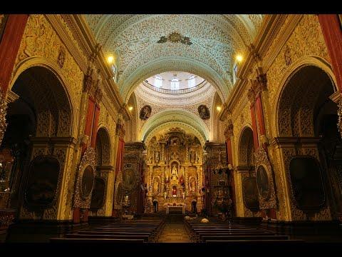 ECUADOR - QUITO (PART 2) - CHURCHES INSIDE (Full HD)