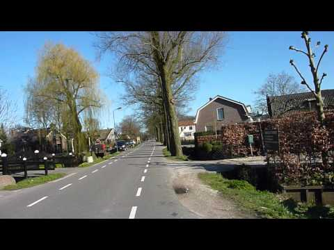 Bicycle trip: Zeist - Utrecht - Maarssen - Maartensdijk - Bilthoven - Zeist [ZUMMBZ Full video]