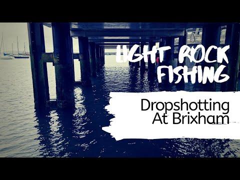 Light Rock Fishing - Drop Shotting At Brixham