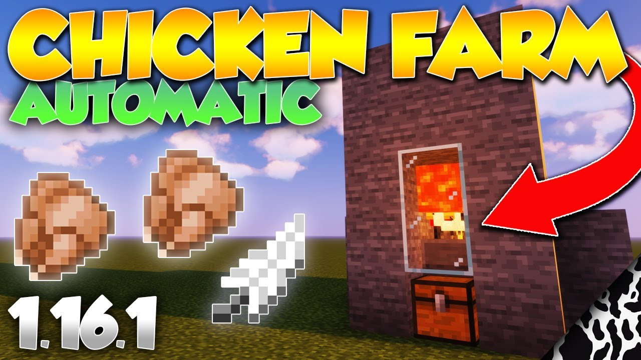 122 best automatic farms for Minecraft 12.126