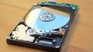 Reparieren von Festplatte (kratzen, klicken)