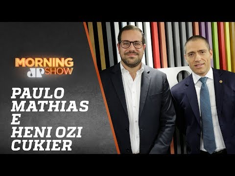 Paulo Mathias e Henri Cukier - Morning Show - 090819
