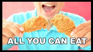 All-You-Can-Eat KFC?!?!?! - Food Feeder