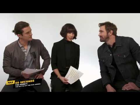Max 60 Seconds with The Hobbit: The Battle of the Five Armies' Lee Pace Cinemax