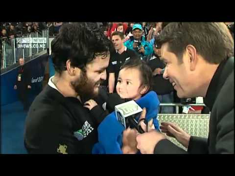 Campbell Live  All Blacks Win Rugby World Cup 2011