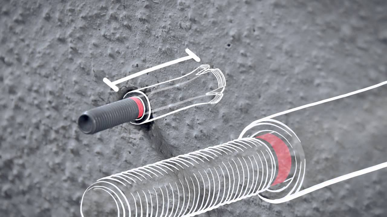 Hilti , Introducing the HMU undercut anchoring system (English) , YouTube