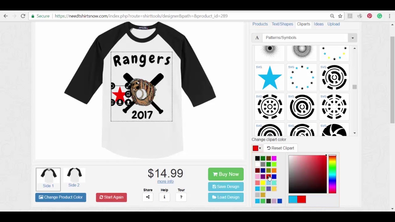 Design t shirt maker free - How To Design A T Shirt Online Free T Shirt Mockup Need T Shirts Now