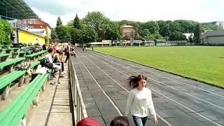 Легка атлетика 2017 ,біг 200 м дівчата