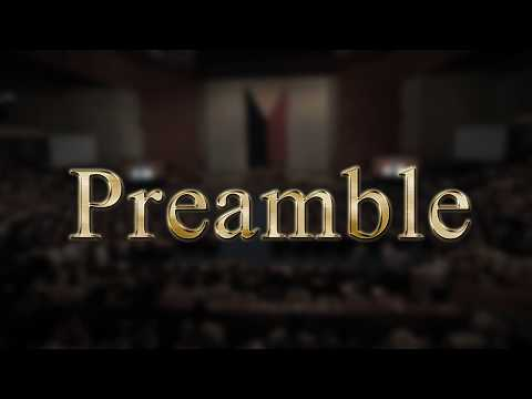Preamble - 1987 Philippine Constitution (Audio)