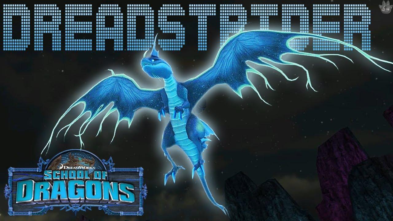 SPOOKY HYBRID DRAGON! School of Dragons: Dragons 101 - The ...