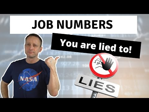 False Job Numbers - You Are Being Lied To! (Non Farm Payrolls)