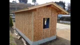 DIYで倉庫をつくりました2~外壁・屋根編~ thumbnail