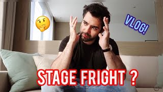 STAGE FRIGHT? How I deal with it! PABLO FERRÁNDEZ VLOG 2 AUSTRALIA, SUBS EN ESPAÑOL