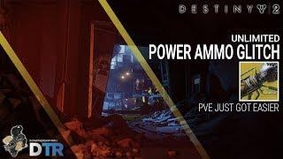 Destiny 2 | UNLIMITED POWER AMMO GLITCH