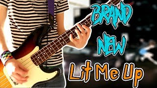 Brand New - Lit Me Up Guitar / Bass Cover 1080P