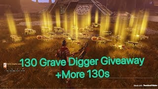 130 GRAVE DIGGER GIVEAWAY!| Fortnite Save The World LIVE|