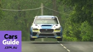 Subaru WRX STi smashes Isle of Man TT record | In the raw video