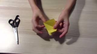 Красивый бант из бумаги своими руками
