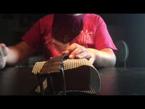 Dmt diamond stone knife sharpening