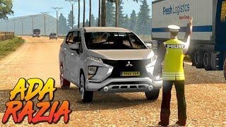Mitsubishi Xpander Euro Truck Simulator Test Drive - Razia Polisi indonesia