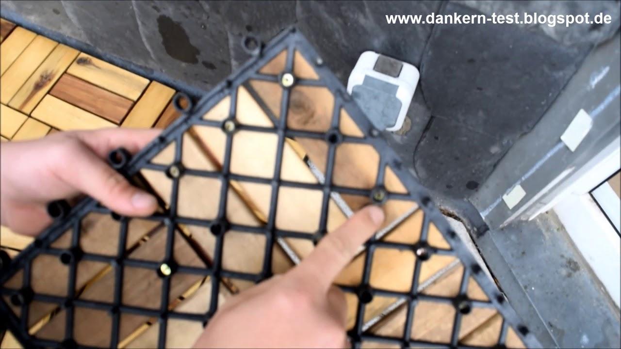 Holzfliesen Balkon Dankern Produkttest