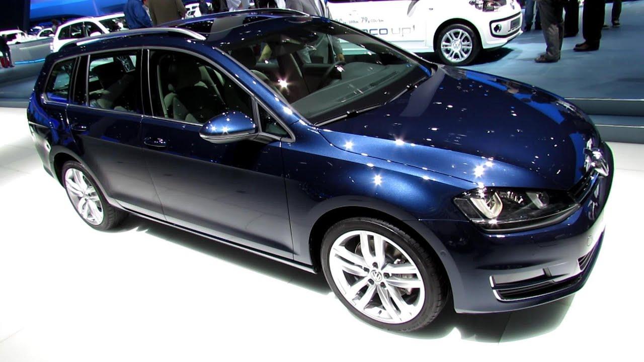2014 Volkswagen Golf Variant TDI - Exterior and Interior Walkaround - 2013 Frankfurt Motor Show ...