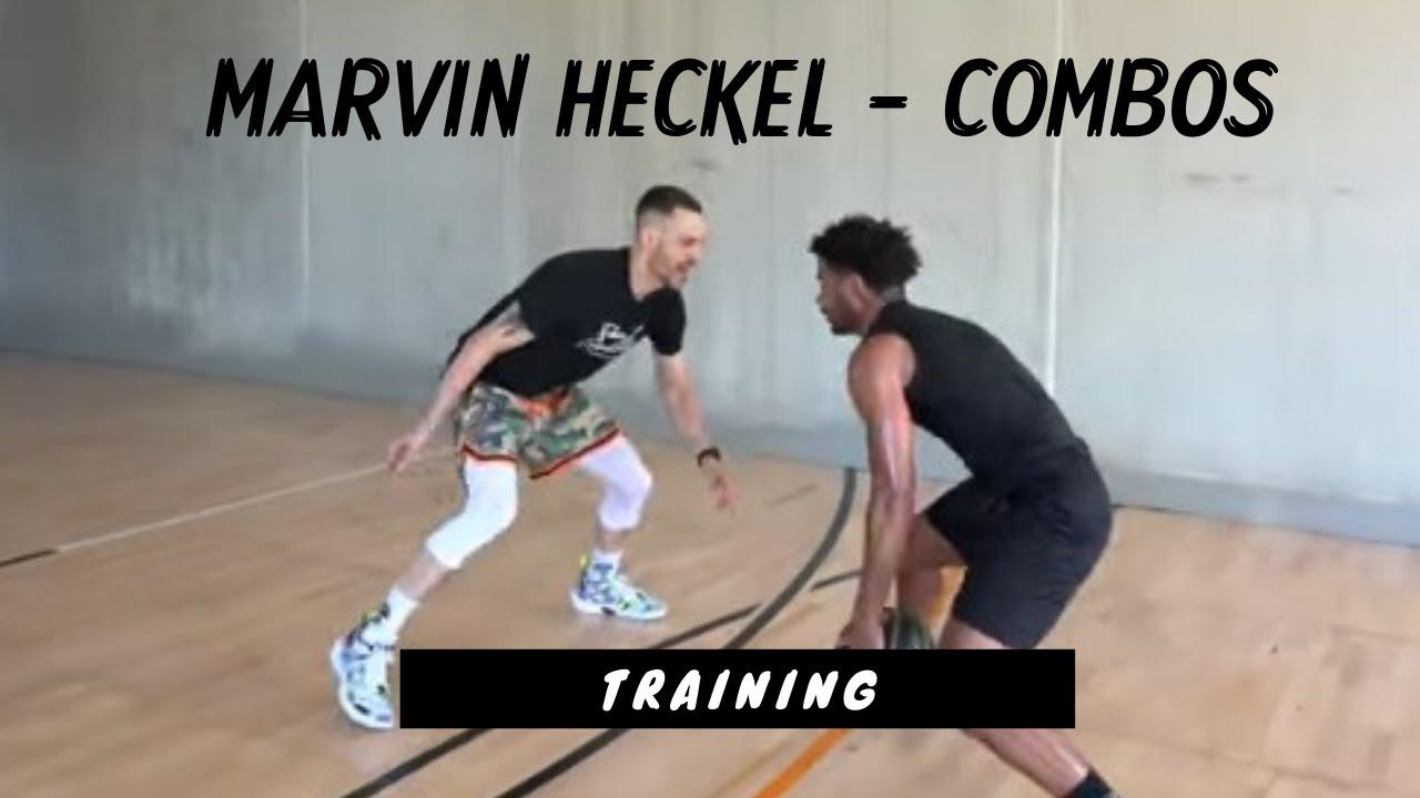 Footwork für Profis - Marvin Heckel hat's drauf!