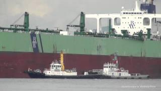 BW STADT VLCC OIL TANKER タンカー 堺泉北港出港