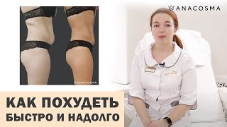Как похудеть 👉 БЫСТРО и 👉НАДОЛГО⭐️Аппаратное похудение⭐️⭐️