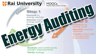Energy Auditing - General Aspects of Energy Management