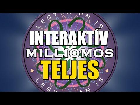 INTERAKTÍV Legyen ön is Milliomos paródia TELJES (By:. Peti)