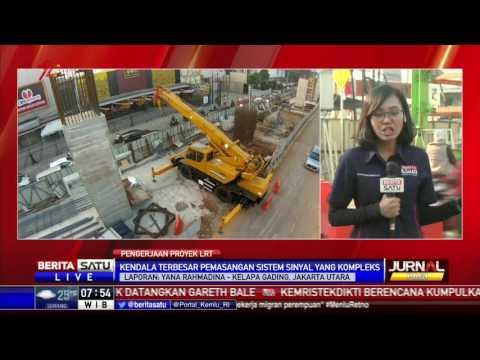 Pengerjaan Pembangunan LRT Kelapa Gading Capai 30 Persen