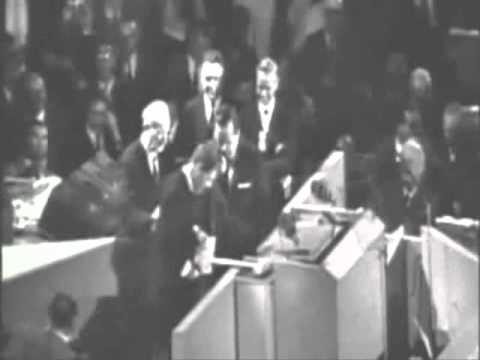 RFK at 1964 DEMOCRATIC CONVENTION «QC'z/AR»