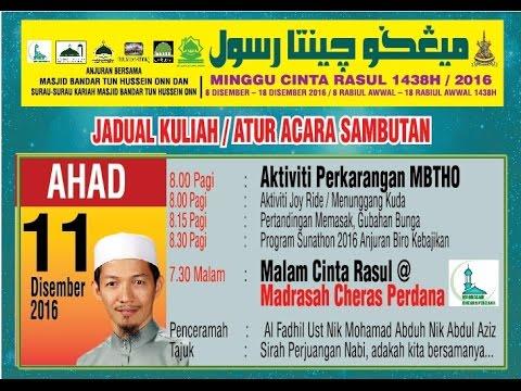 11122016 Ust Nik Muhammad Abduh at Madrasah CP