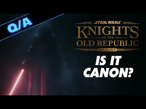 Is the Knights of the Old Republic Remake Canon - Star Wars Explained Weekly Q&A  