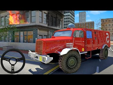 Fire Truck Simulator 2019 - Gameplay Trailer (Android Game) - 동영상