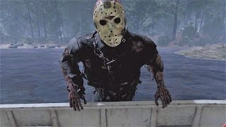 ¿ESCAPARAN EN BARCO?  - FRIDAY THE 13th: THE GAME