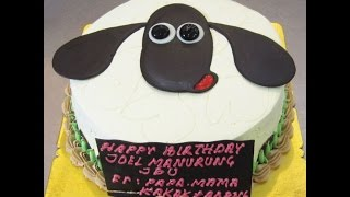 Shaun The Sheep In Cake Form  A Hot Buns Bakery Recent Creation.