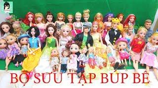 Cho các em xem BỘ SƯU TẬP BÚP BÊ của chị Ami ^^#2 / My  Doll Collection 2018
