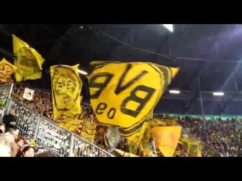 BVB-FC Augsburg Fangesänge