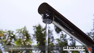 Grifo de cocina Clever Caiman Urban para agua tratada con ósmosis