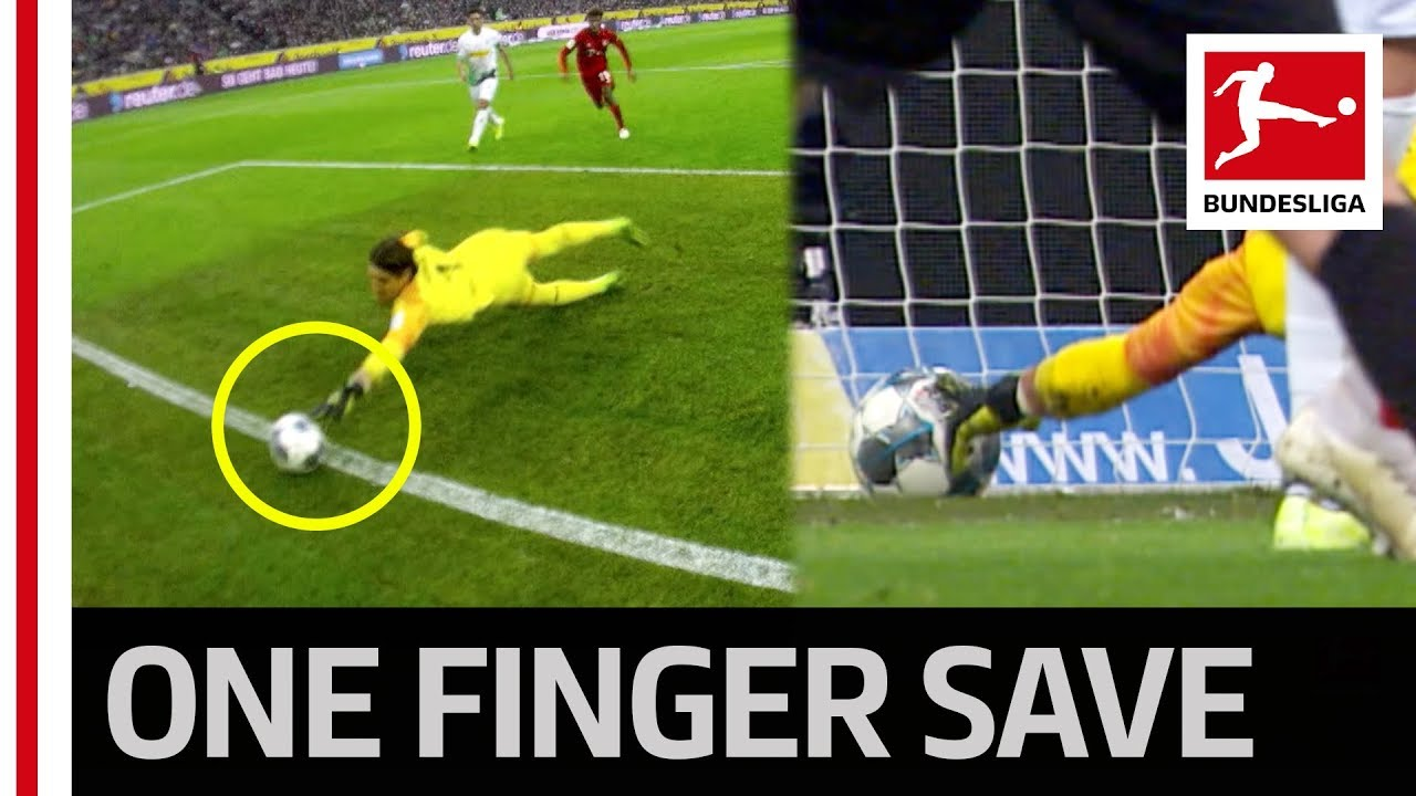 Unbelievable Goalkeeper Reaction Sommer S Super Save Shocks Bayern Youtube
