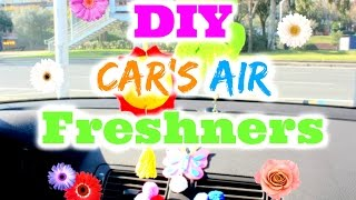 DIY AIR FRESHNER FOR YOUR CAR ✿ ✄ ✿