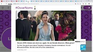 Oscars 2019 snub female directors and Asian actors
