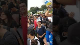 Niantic Pokemon Go vino a Monterrey Nuevo León México (Parque fundidora) DíaDeLaComunidad Chikorita